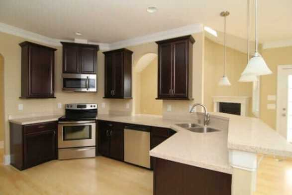 Awesome changing kitchen cupboards #kitchencabinetremodel #kitchencabinetrefacing