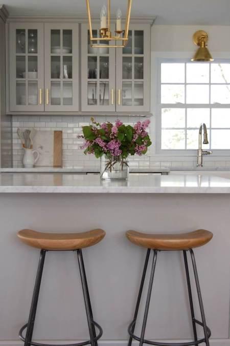 Nice kitchen remodel on a budget #smallkitchenremodel #smallkitchenideas