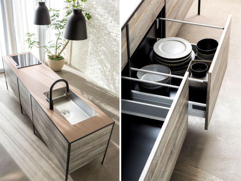 Amazing kitchen drawers #kitcheninteriordesign #kitchendesigntrends