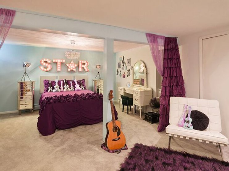 Amazing little girl room decor ideas #cutebedroomideas #bedroomdesignideas #bedroomdecoratingideas