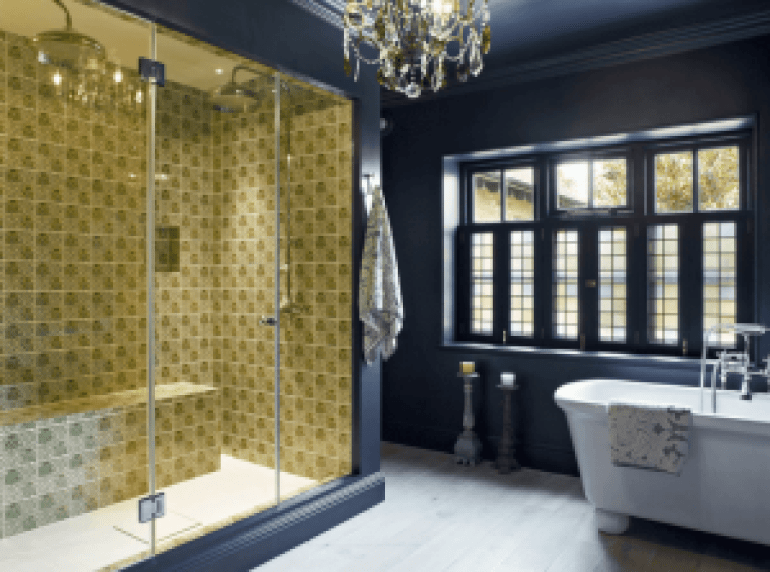 Beautiful bathroom floor tile designs for small bathrooms #bathroomtileideas #bathroomtileremodel
