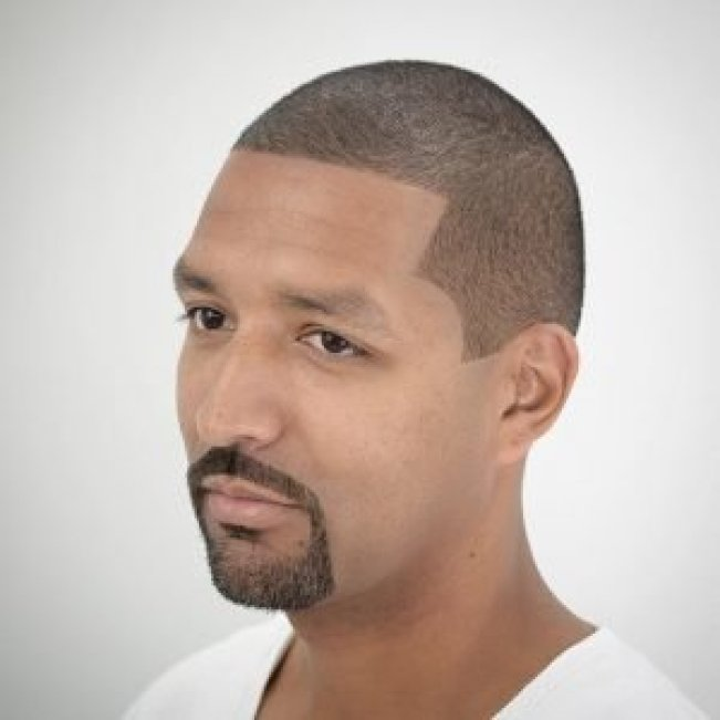 Brilliant beard style for bald man #beardstyles #beardstylemen #haircut #menstyle