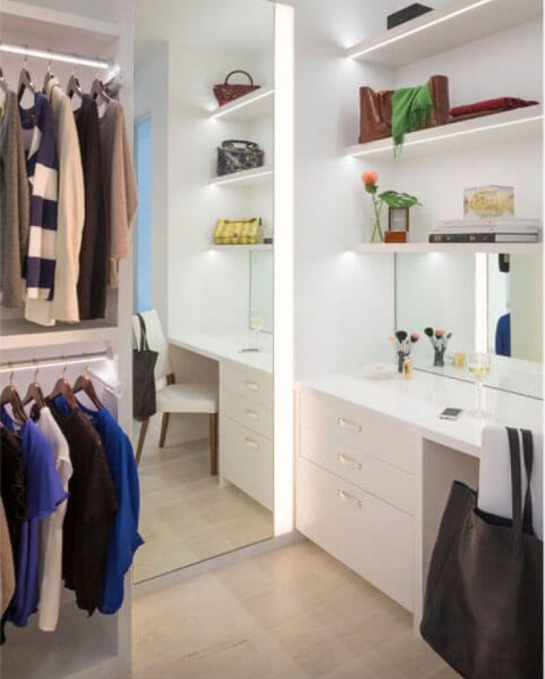 Surprising small closet organization ideas #walkinclosetdesign #closetorganization #bedroomcloset