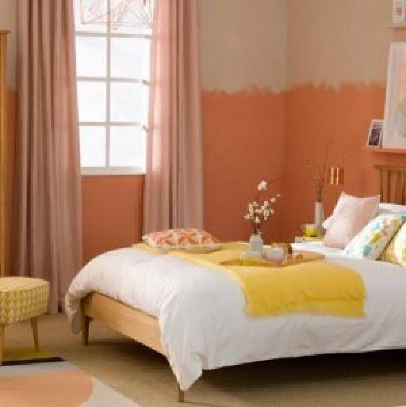 Striking bedroom paint colour ideas #bedroom #paint #color