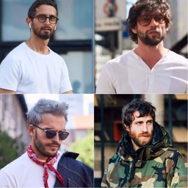 Stunning mens haircuts with beards #beardstyles #beardstylemen #haircut #menstyle
