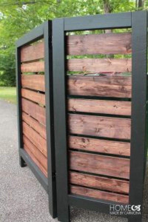 Extraordinary diy privacy fence #privacyfenceideas #gardenfence #woodenfenceideas