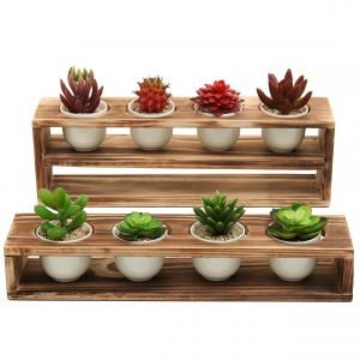 Uplifting outdoor plants in pots ideas #diyplantstandideas #plantstandideas #plantstand