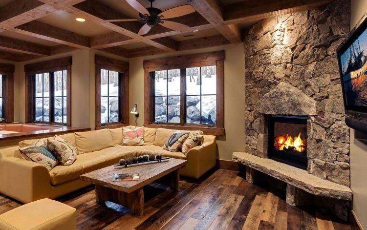 Brilliant fireplace mantels #cornerfireplaceideas #livingroomfireplace #cornerfireplace