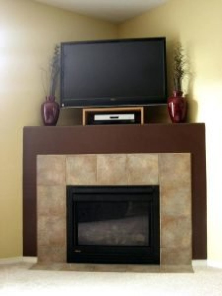 Perfect pictures corner fireplace decorating ideas #cornerfireplaceideas #livingroomfireplace #cornerfireplace