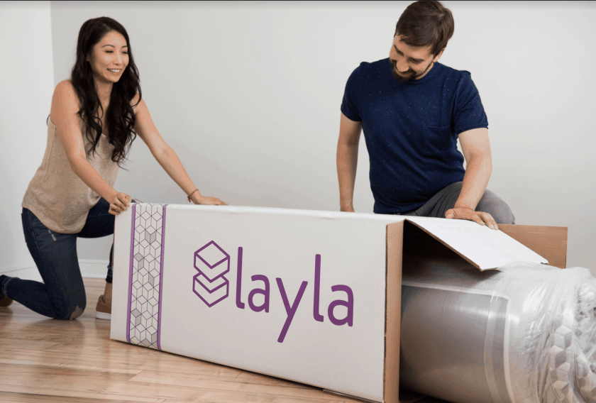 layla packing and shipping