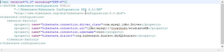 Hibernate XML