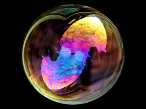 bubble logo