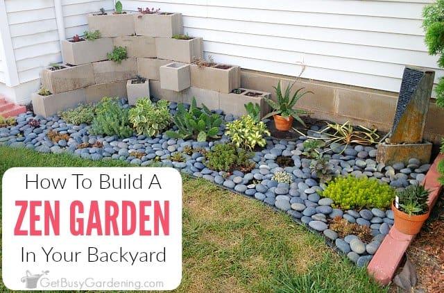 How To Make A Zen Garden In Your Backyard - Get Busy Gardening on Zen Backyard Ideas id=81749