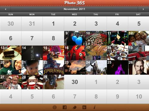 Photo 365 on the iPad
