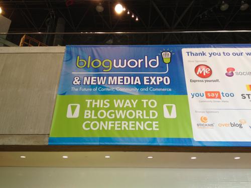 Blog World New York 2012