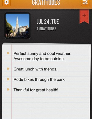Gratitude 365 App – Change Your Thoughts, Change Your Life