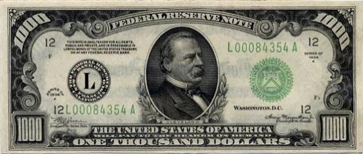 1000 bill
