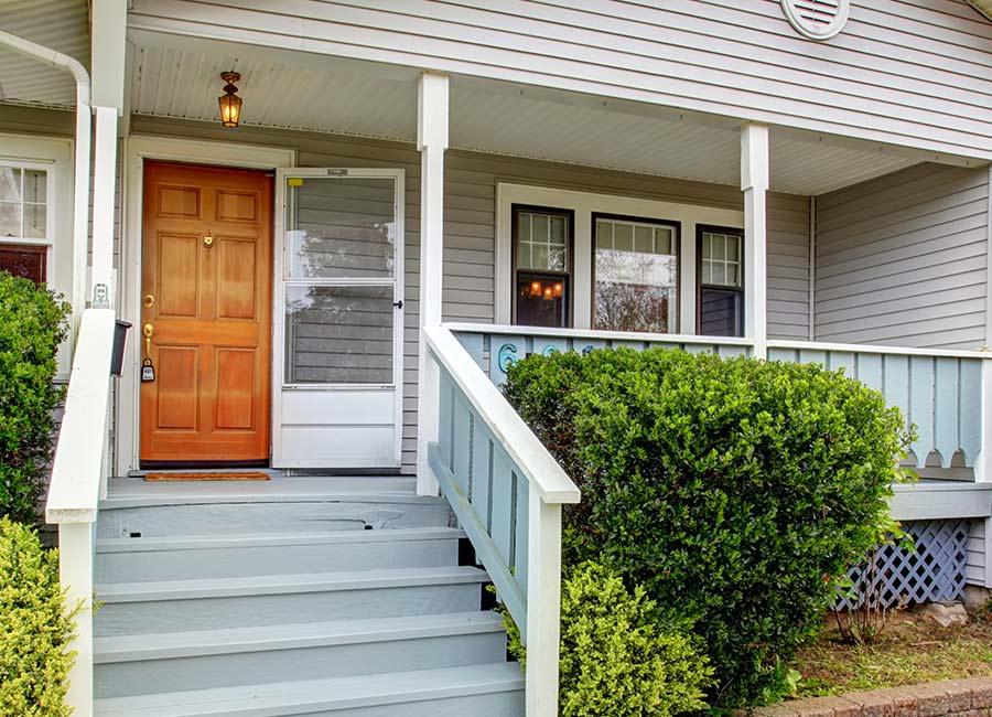 Photo of a HomeGuard door