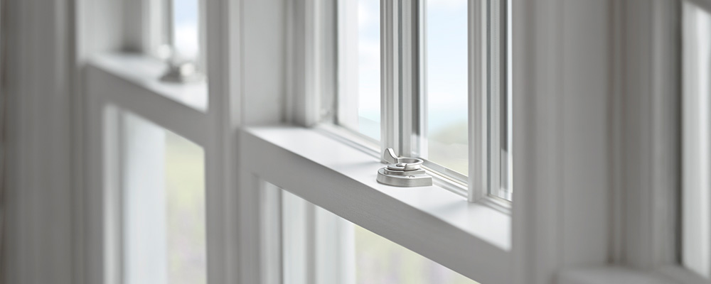 Photo of window lock