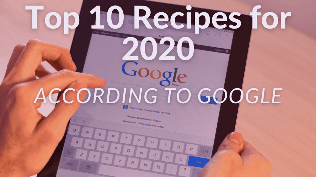 Top 10 Recipes for 2020 header image