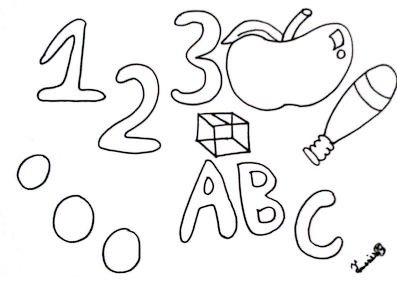 123 Coloring Pages At Getcolorings