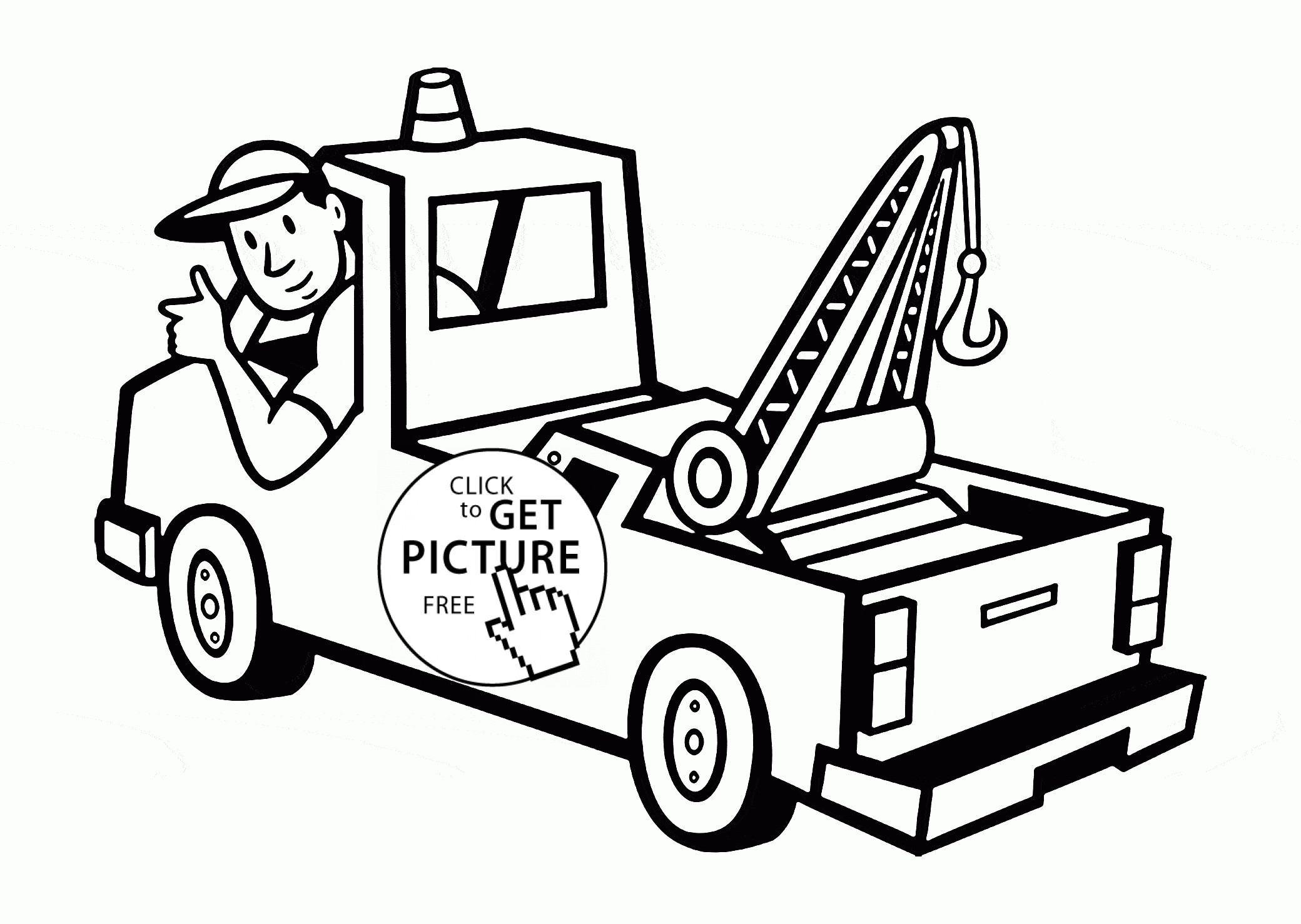 18 Wheeler Truck Coloring Pages At Getcolorings