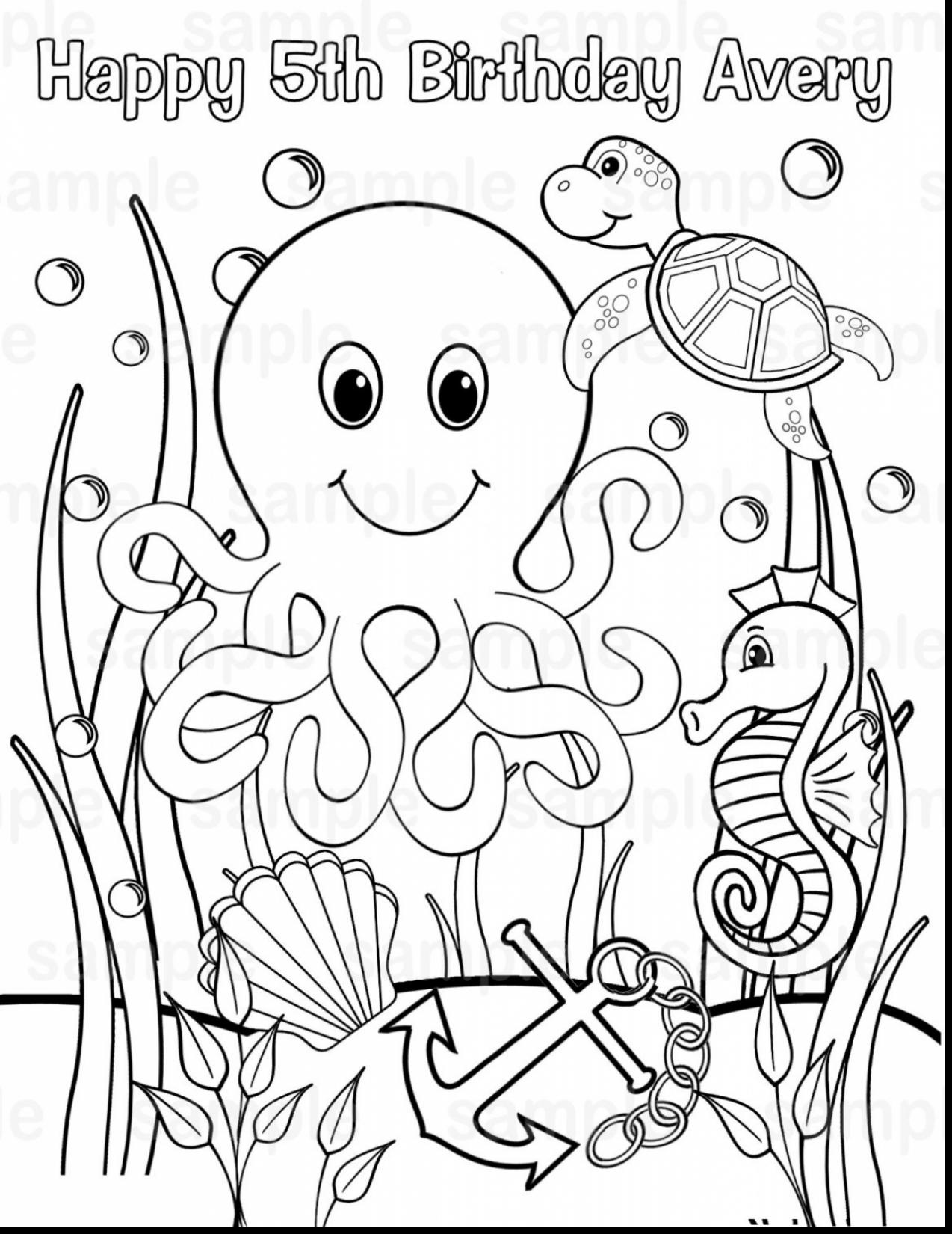 Adult Coloring Pages Beach At Getcolorings