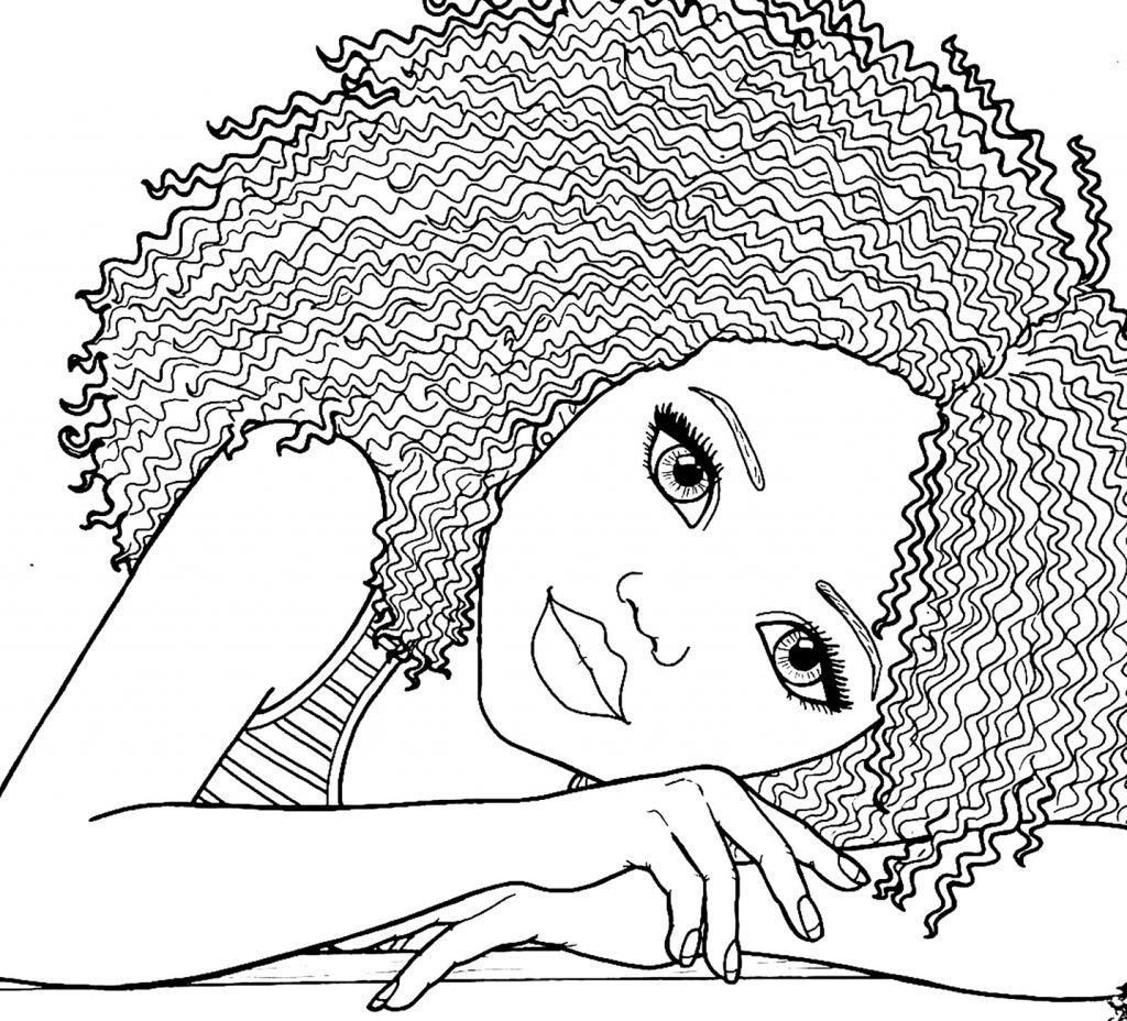 African American Coloring Pages At Getcolorings