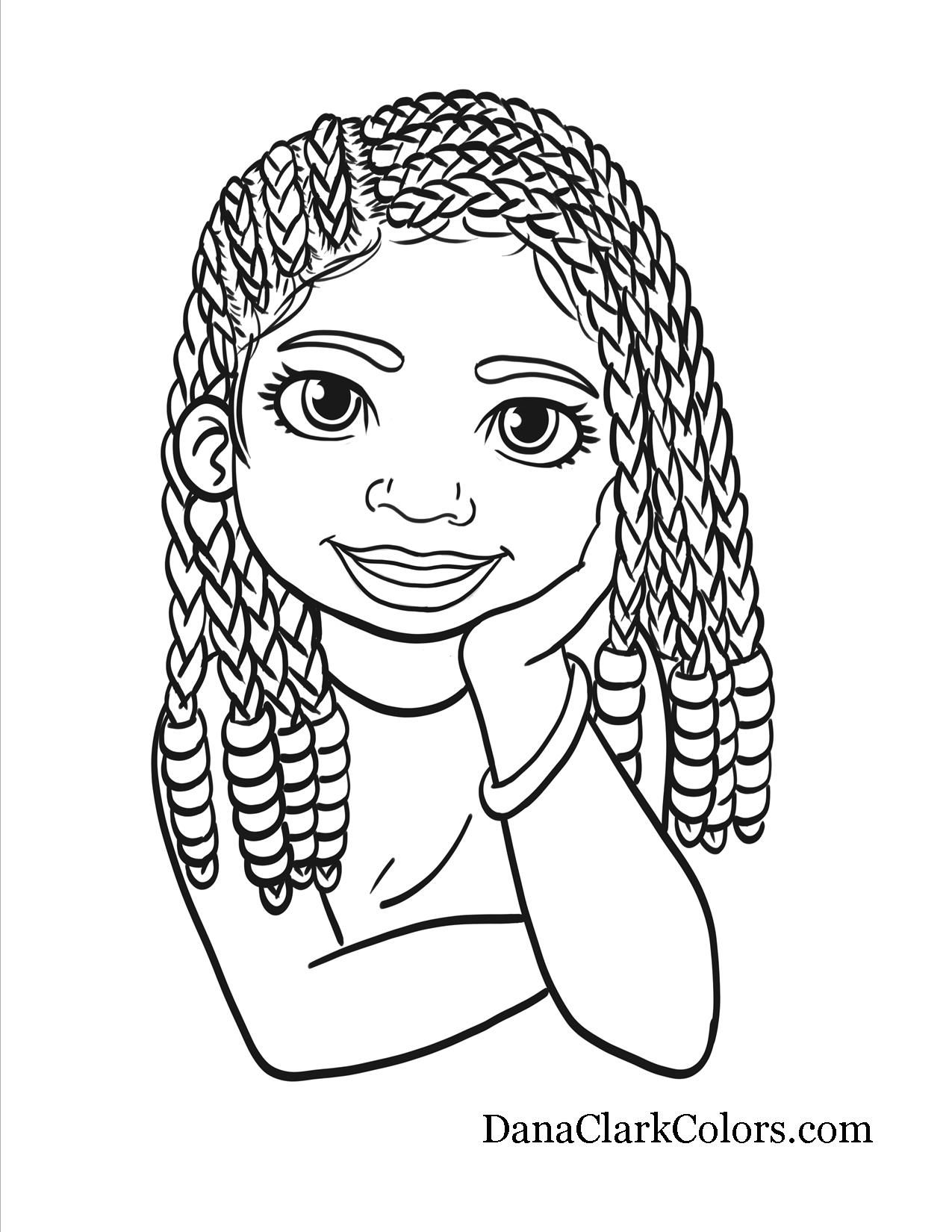 Afro Coloring Pages At Getcolorings