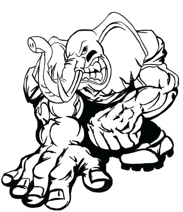 alabama football coloring pages at getcolorings  free