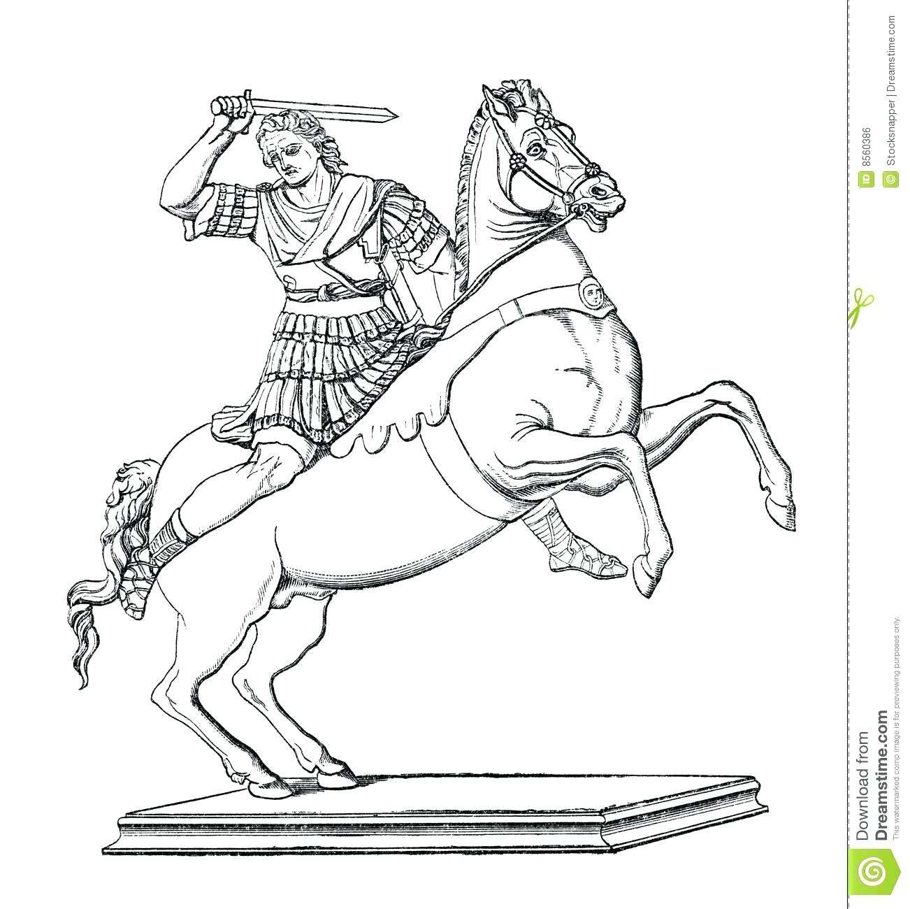 Alexander The Great Coloring Page At Getcolorings