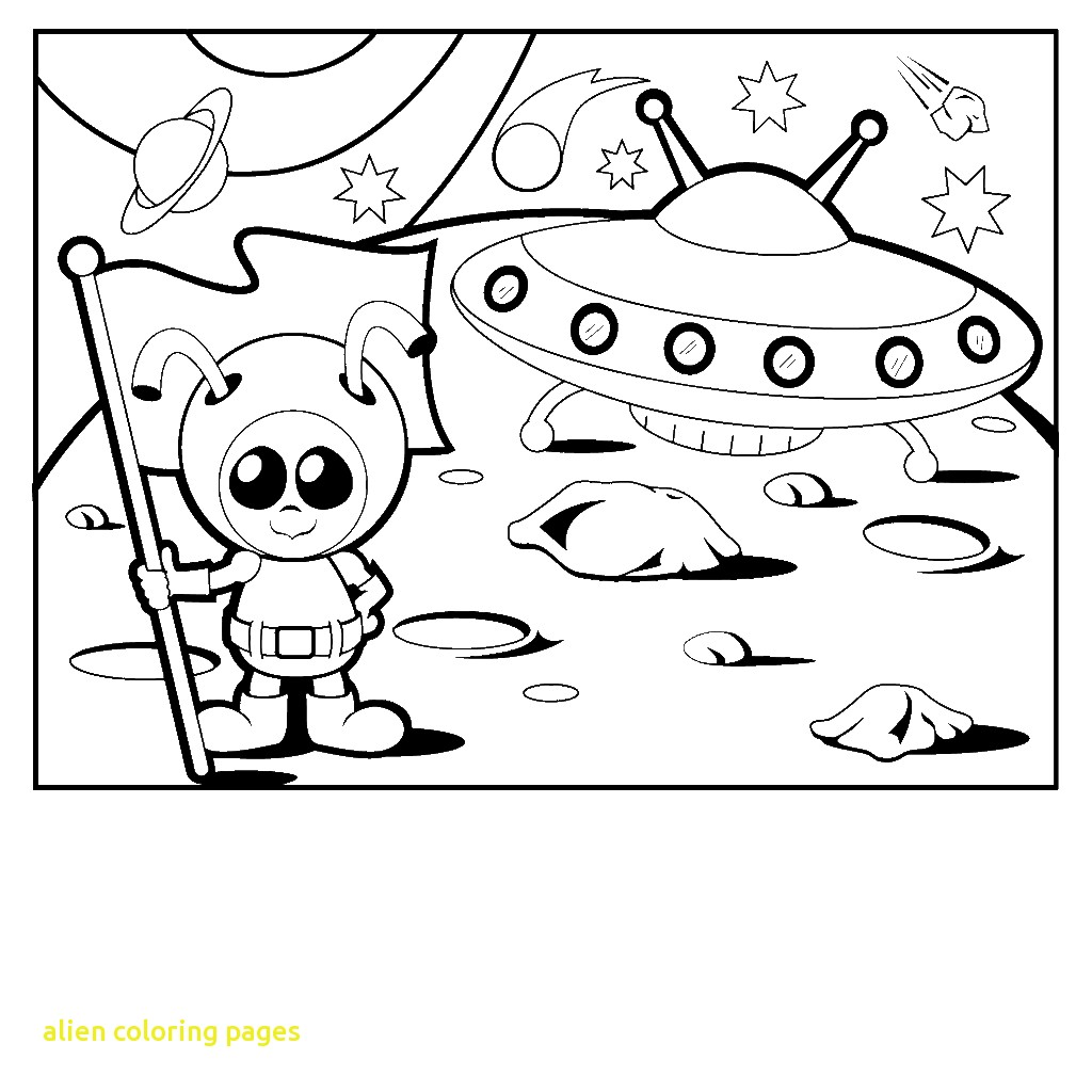 Alien Coloring Pages At Getcolorings