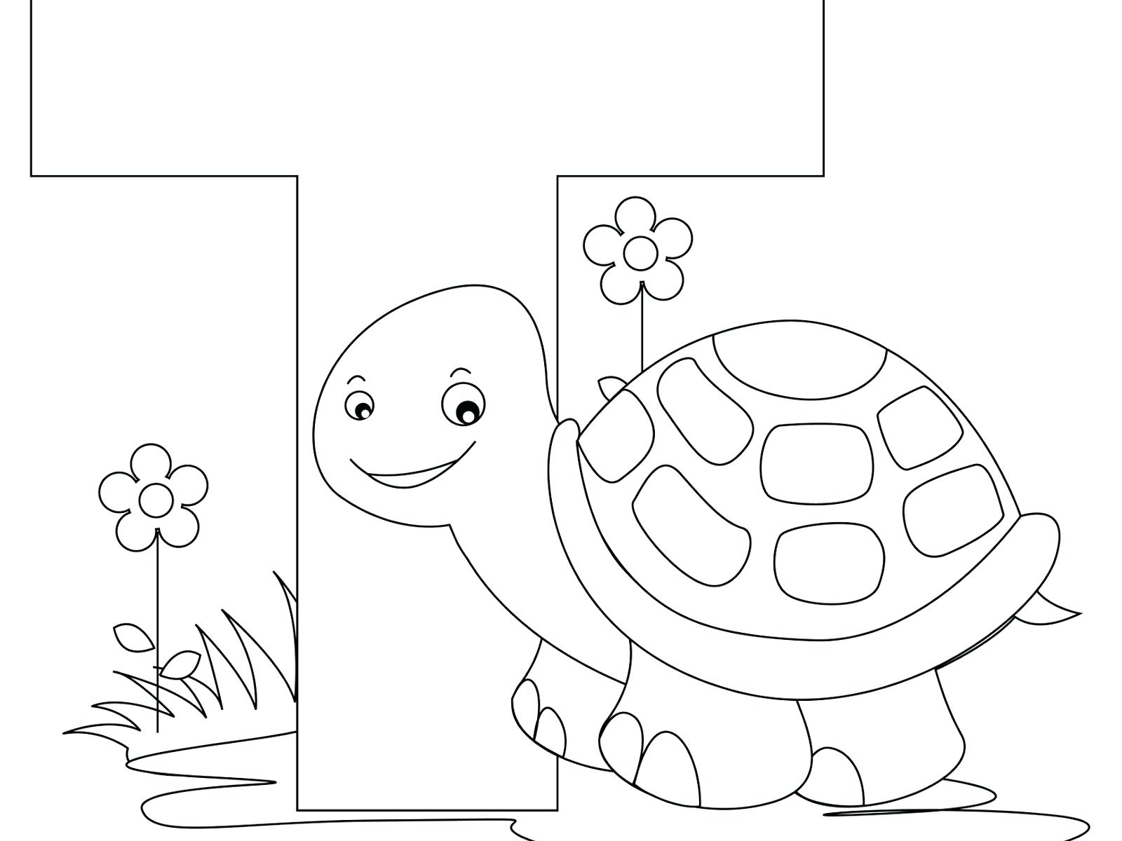 Alphabet Coloring Pages E At Getcolorings
