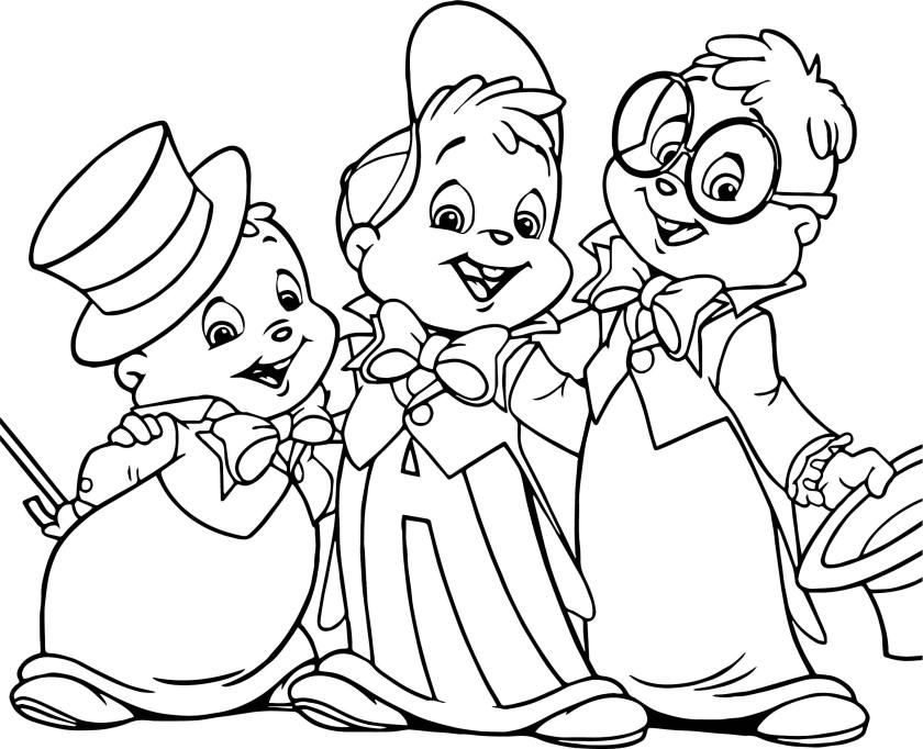 alvin coloring pages at getcolorings  free printable