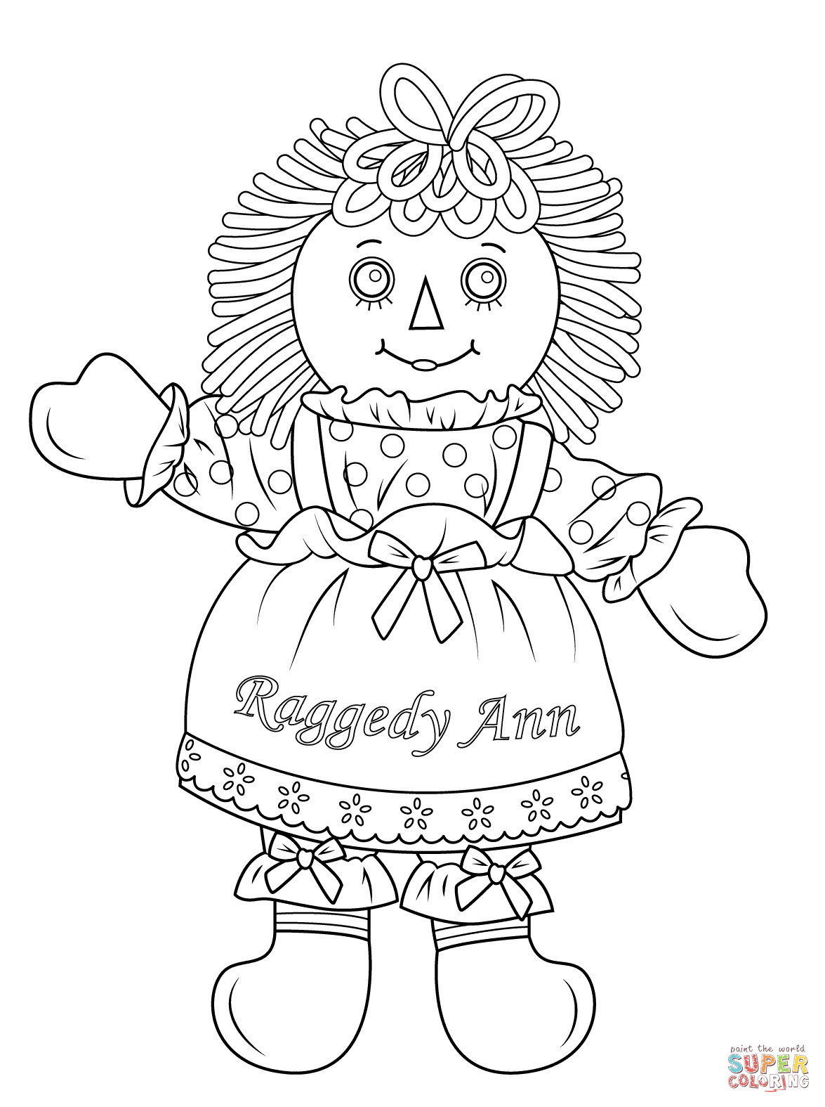 American Girl Coloring Pages Isabelle At Getcolorings