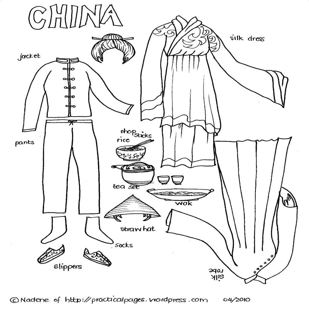 Ancient China Coloring Pages At Getcolorings