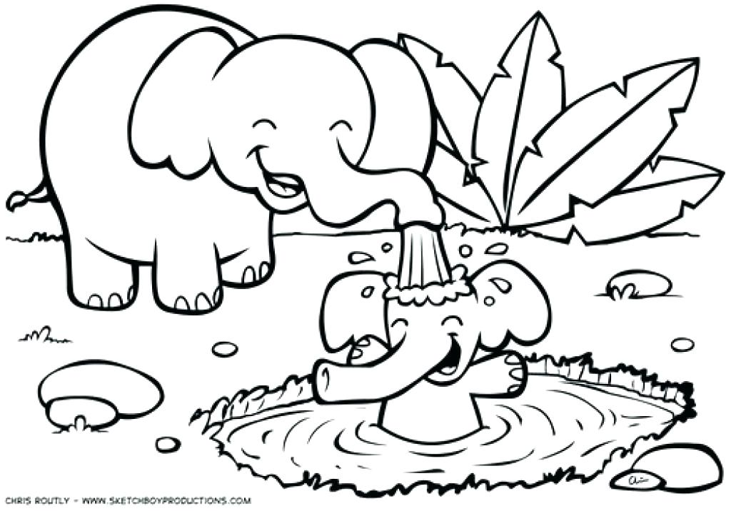 Animal Coloring Pages at GetColorings.com | Free printable ... | free printable jungle animals colouring pages