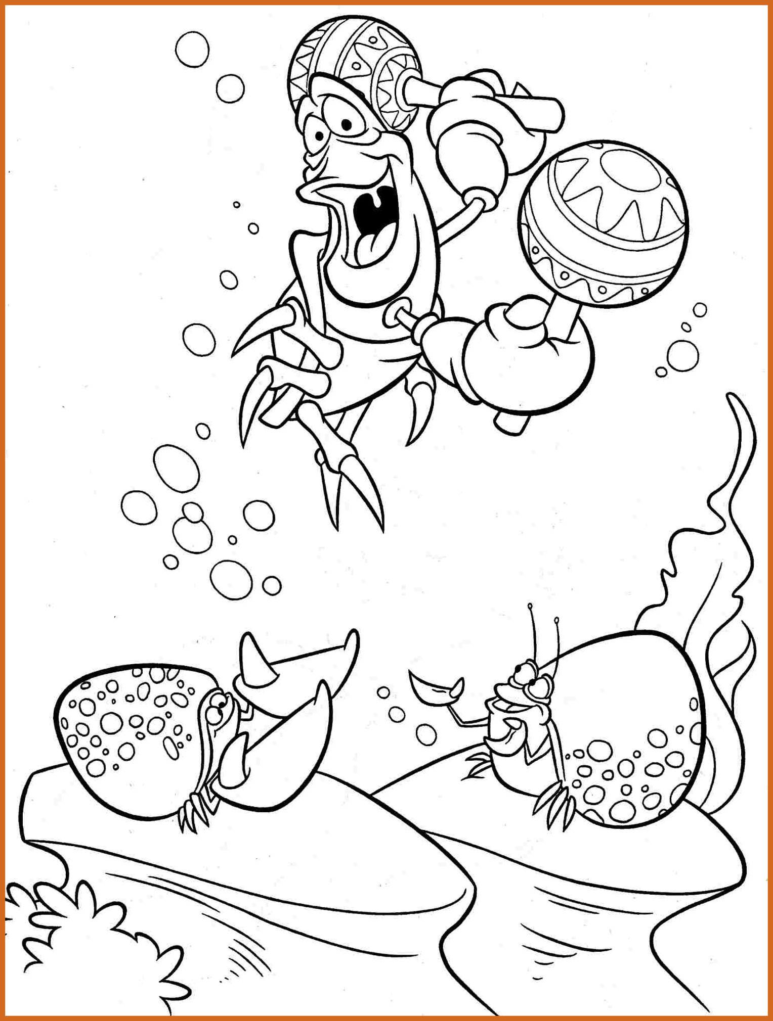 Ariel The Little Mermaid Coloring Pages At Getcolorings