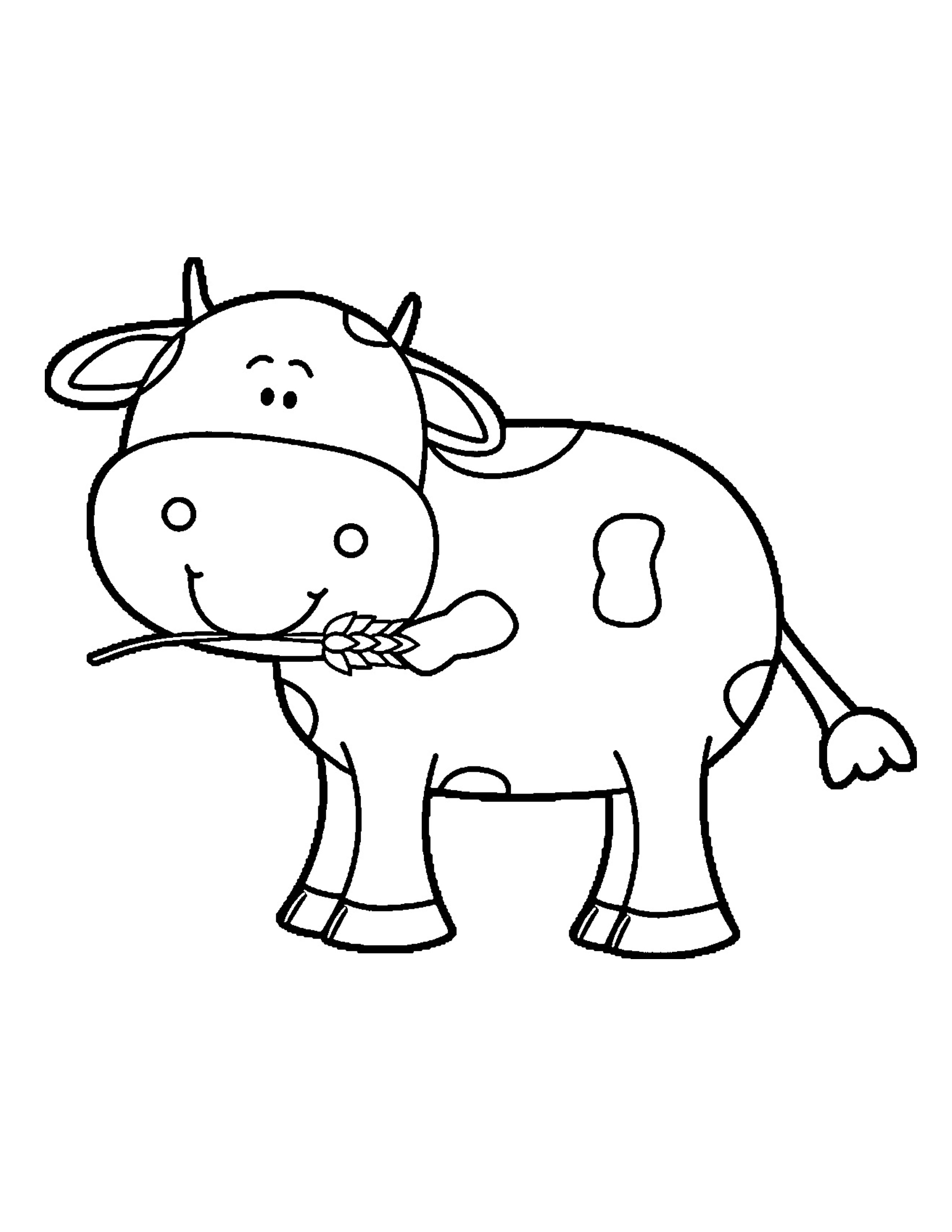 Baby Cow Coloring Pages At Getcolorings