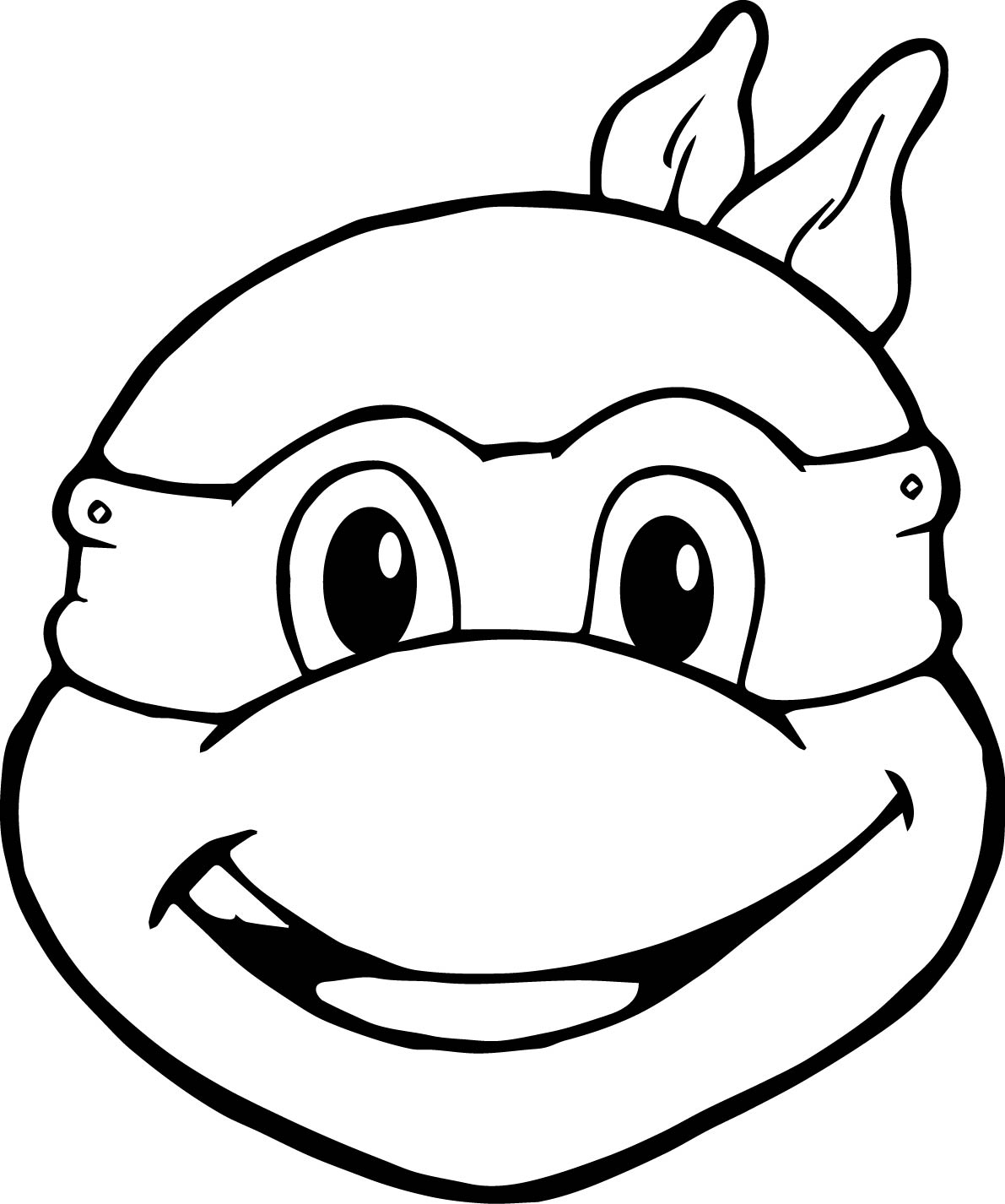 Baby Ninja Turtle Coloring Pages At Getcolorings