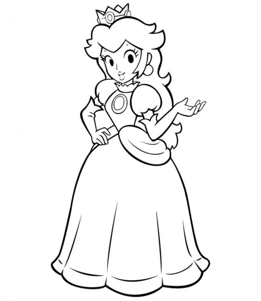Baby Princess Peach Coloring Pages at GetColorings.com ...   free coloring pages princess peach
