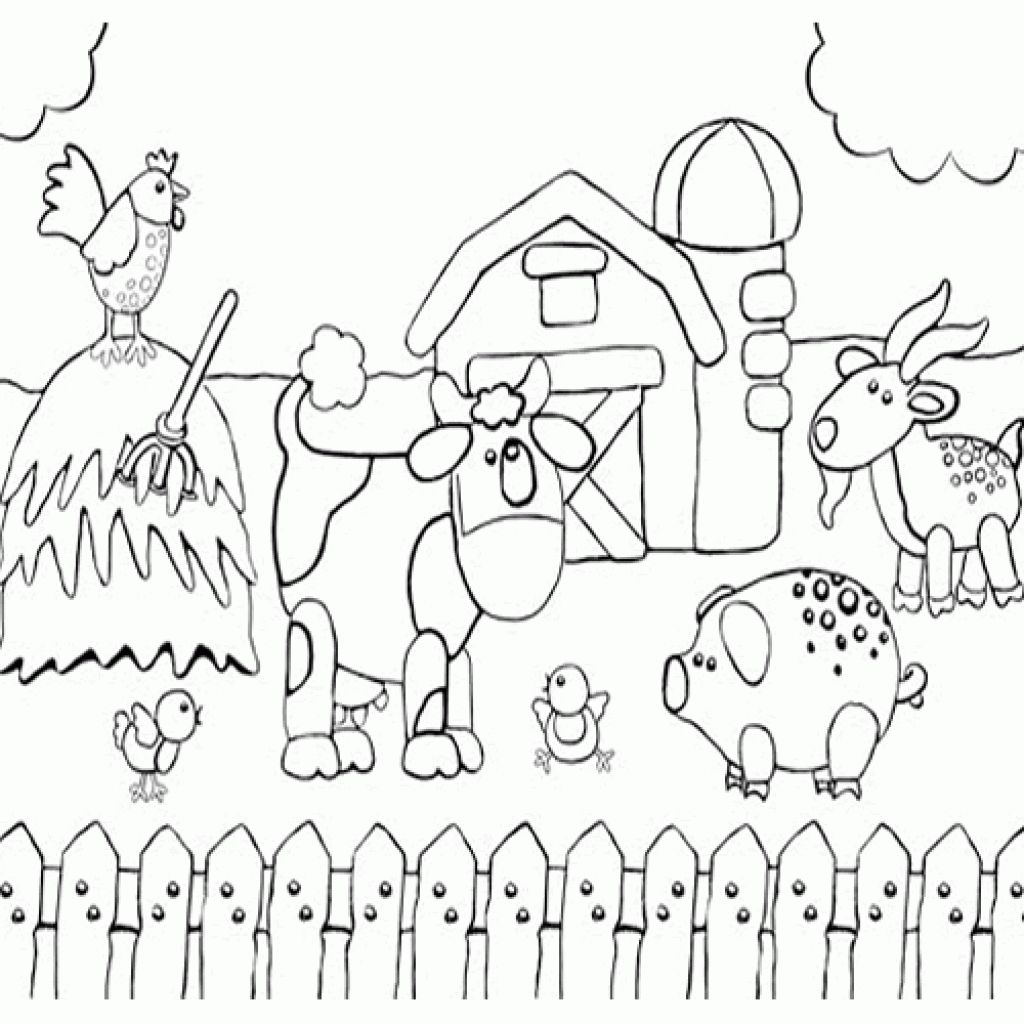 Barn Animals Coloring Pages At Getcolorings
