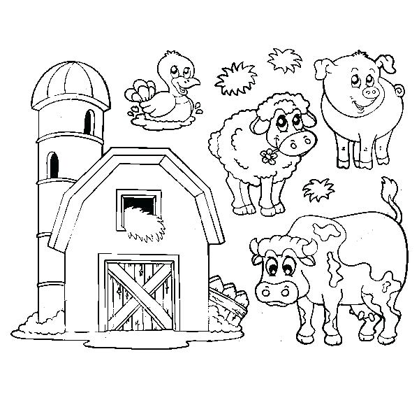 barn coloring pages at getcolorings  free printable
