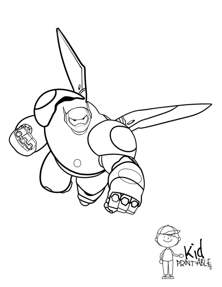 baymax coloring pages at getcolorings  free printable