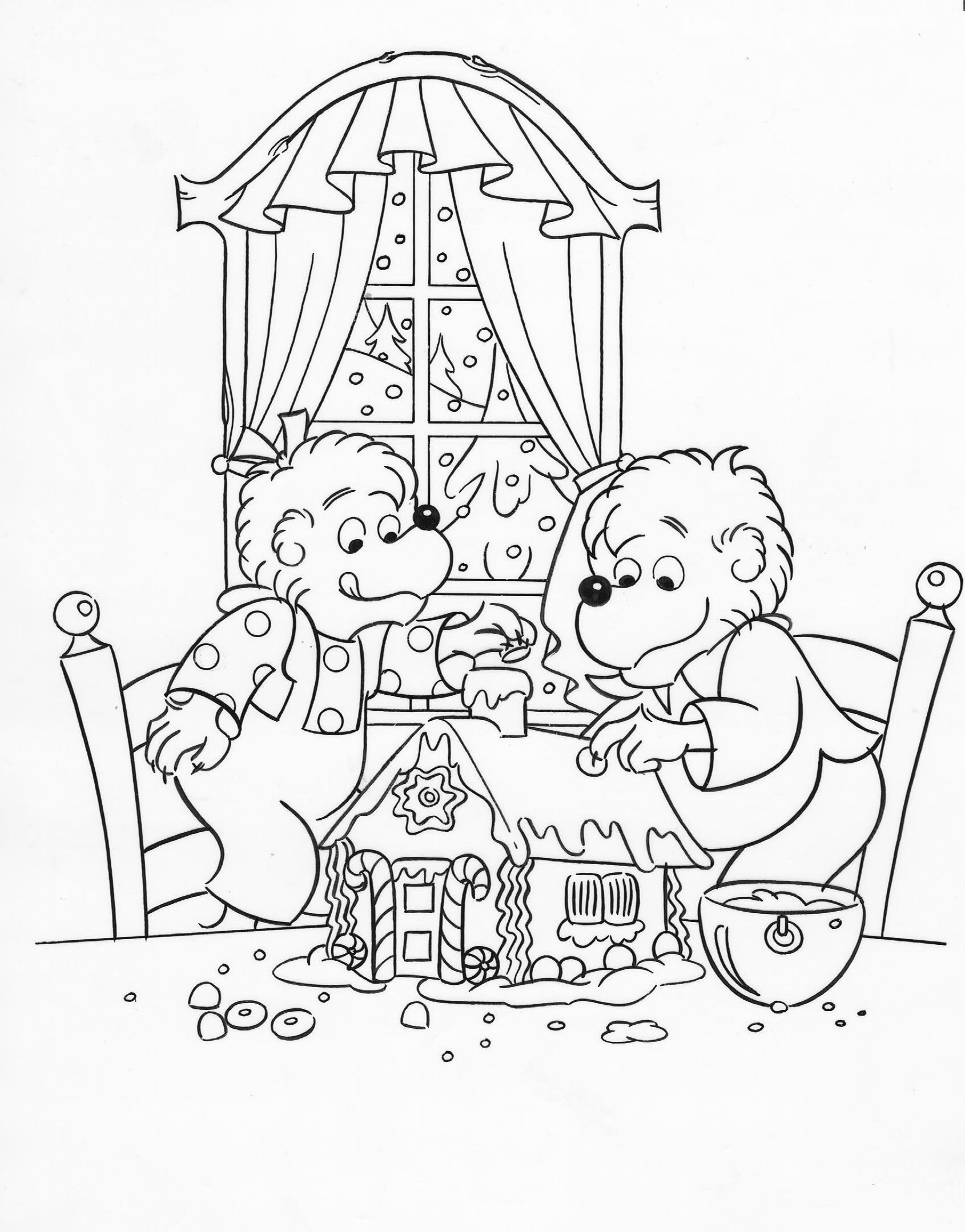 Berenstain Bears Coloring Pages At Getcolorings
