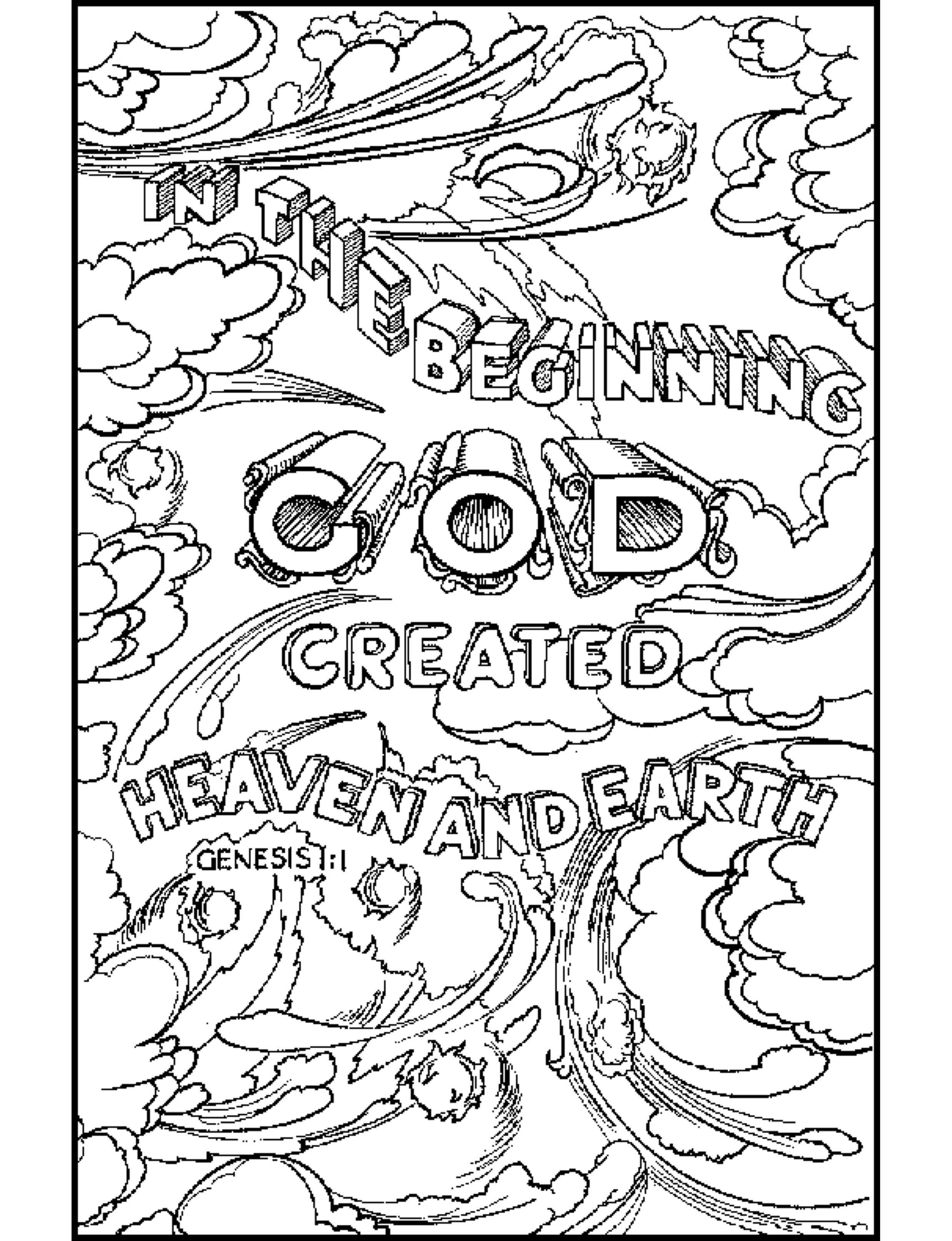 Bible Verse Coloring Pages For Kids At Getcolorings