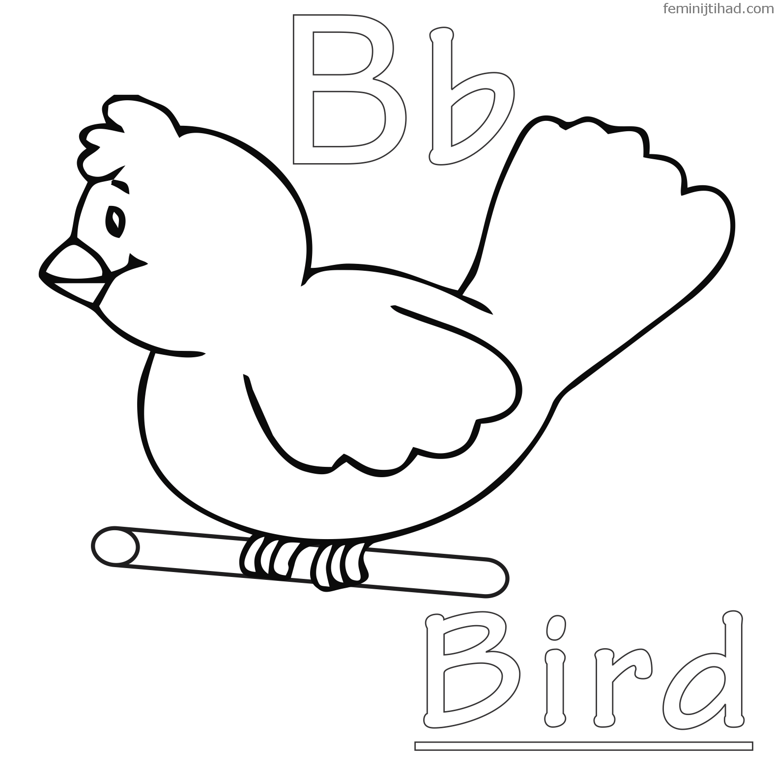 Bird Cage Coloring Page At Getcolorings