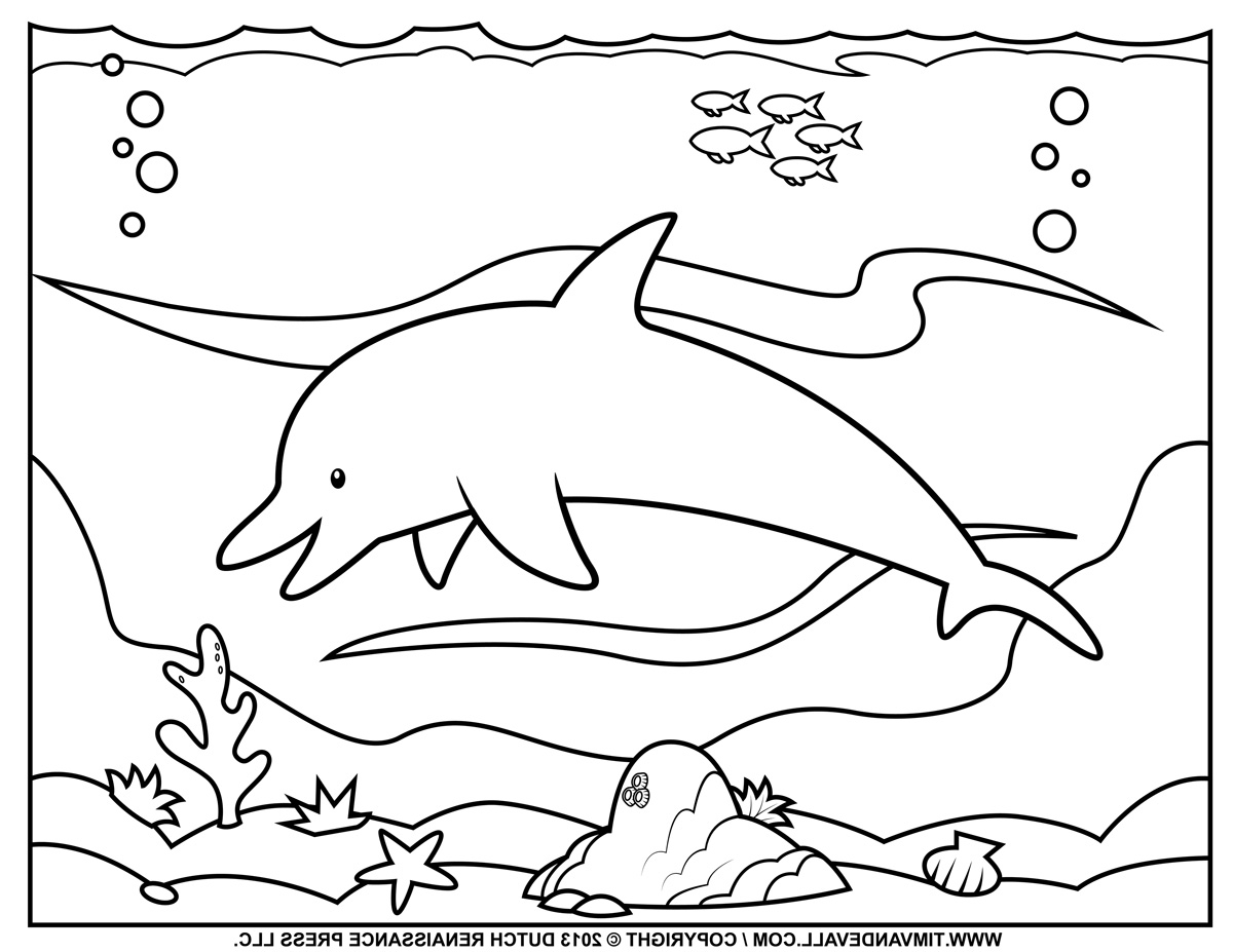 Island Of Blue Dolphins Coloring Pages
