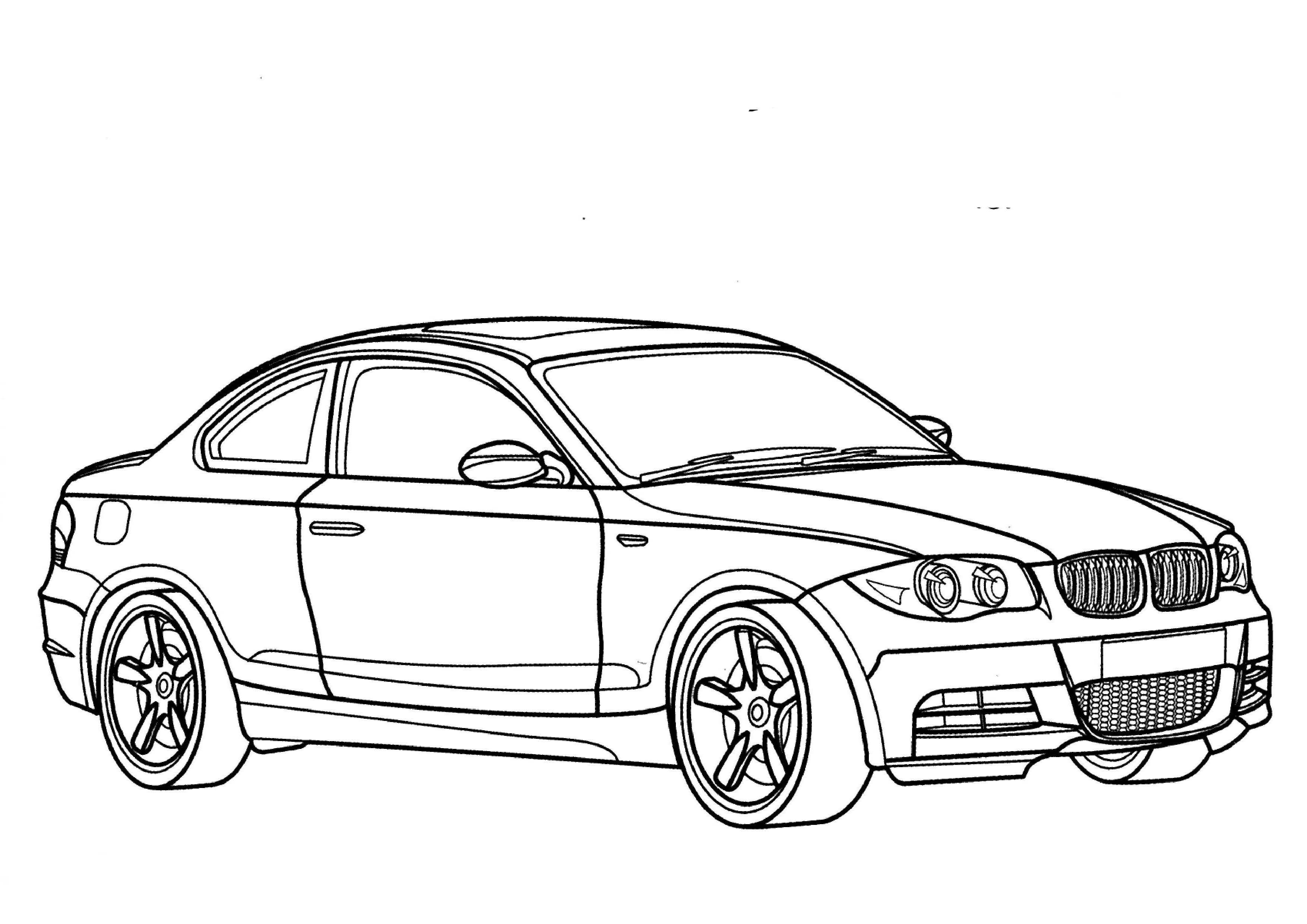 Bmw I8 Coloring Pages At Getcolorings