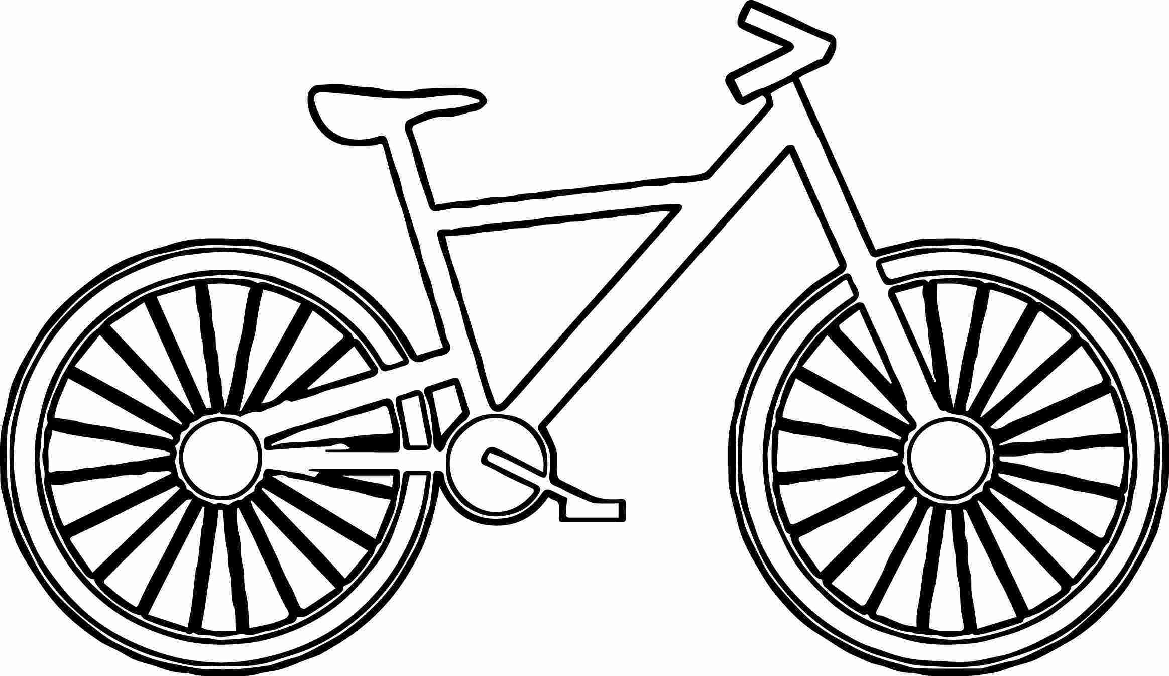 Bmx Bike Coloring Page At Getcolorings